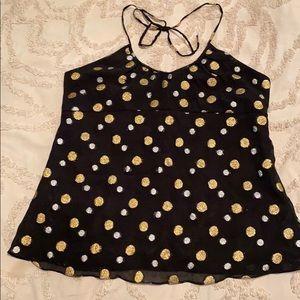 Never Worn!!! Express Halter blouse